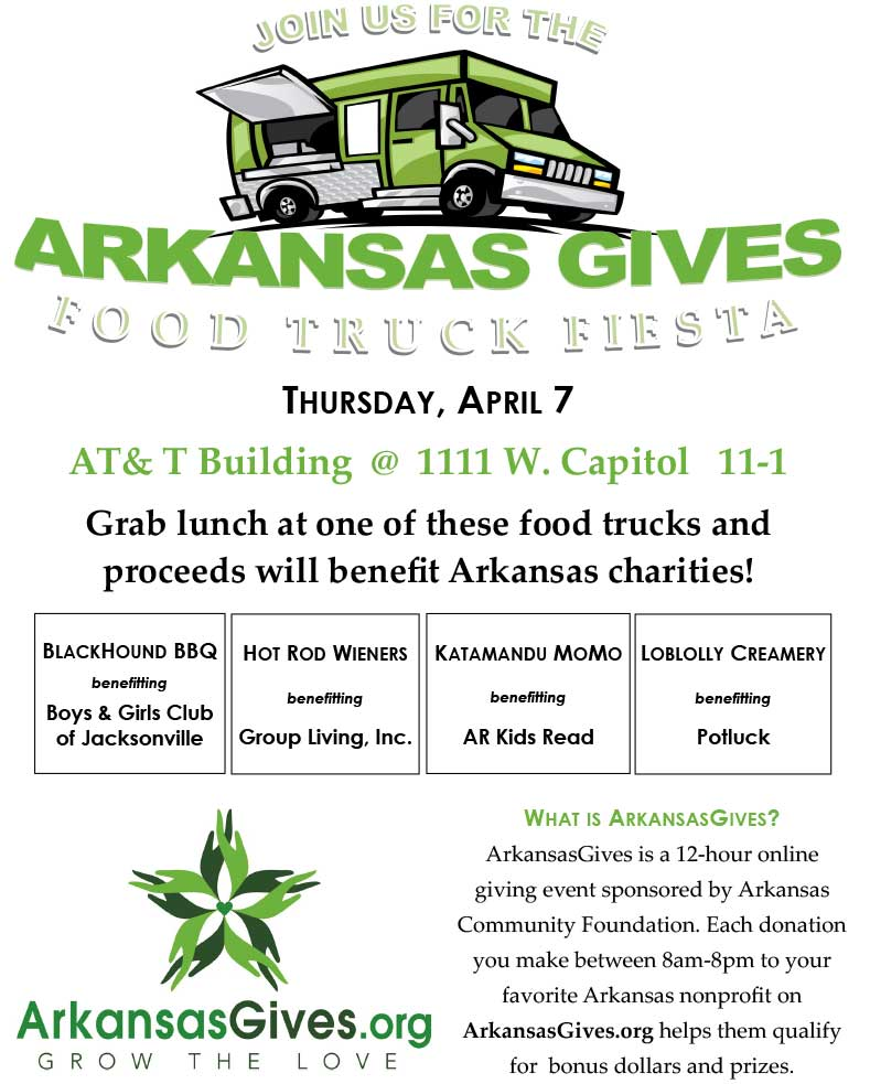 AR Gives Food Truck Flyer